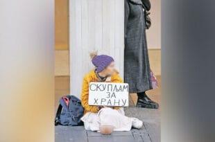 Пола милиона грађана Србије живи у апсолутном сиромаштву