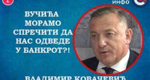 ИНТЕРВЈУ: Владимир Kовачевић - Вучића морамо спречити да нас одведе у банкрот! (видео)