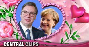 "Вибер разговор Вучић - Ангела Меркел: ""ВОЛИМ ТЕ! Дођи на кафу!"" (видео)"