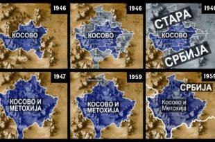 Како су комунисти мењали границу Косова после 1945.