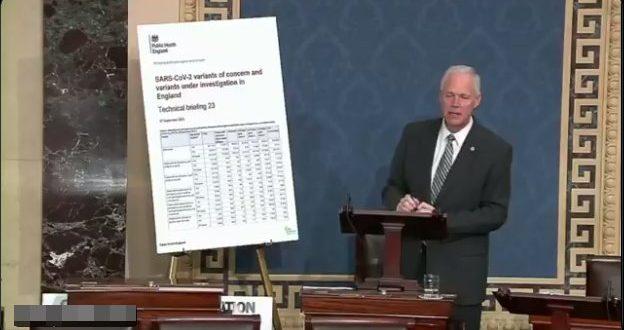 Сенатор Џонсон: Потпуно вакцинисани су 63% свих смртних случајева од коронавируса у Енглескоју задњих 7.5 месеци (видео)