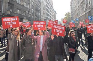 Адвокати у штрајку 20. и 21. октобра