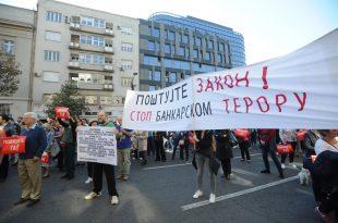 Протест адвоката у Београду, Вучић извео Жандармерију и УДБУ на улице (видео)