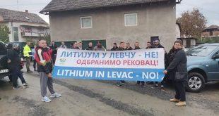 ОДБРАНА СРПСКЕ ЗЕМЉЕ народ блокирао пут у Рековцу због истраживања литијума