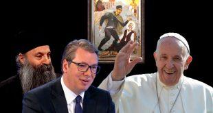 Вучић жели да папа посети Србију, Порфирије унапредио односе са Римокаличком црквом