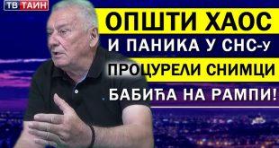 Велимир Илић: Постоје сведоци који су телефонима снимили како Бабића извлаче са места возача! (видео)